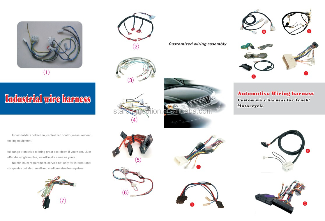 Socket Harness Ceramic Relay 5 Pin Ways Wiring Cable Universal Heat Wire Test Equipment Resistance