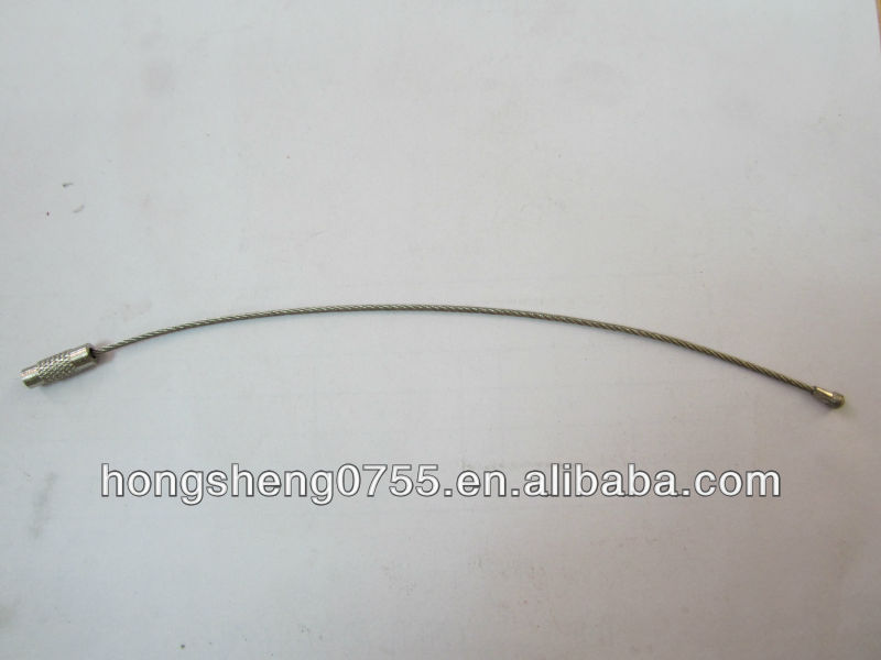 Stainless Steel Cable Wire Luggage Tag Loop, Stainless Steel Cable ...