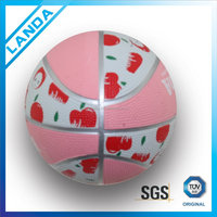 micro rubber basketball/manufacturer