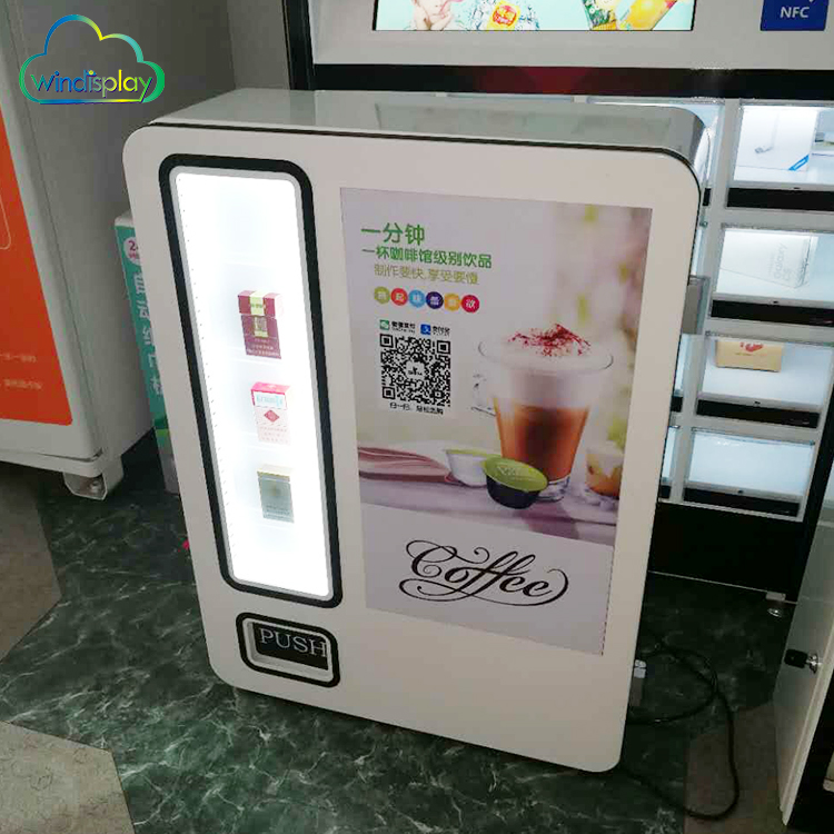Commercial Coin Operated Automatic Tea Coffee Vending Machine Price With Screen