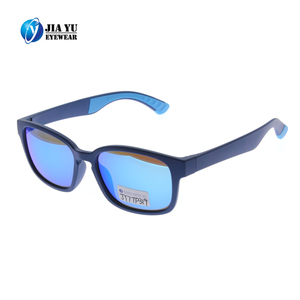 High Quality Private Label Double Injection TR90 UV400 Mirrored Sunglasses For Men