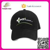 customize logo curved brim Hat New Product Unisex black baseball caps large size