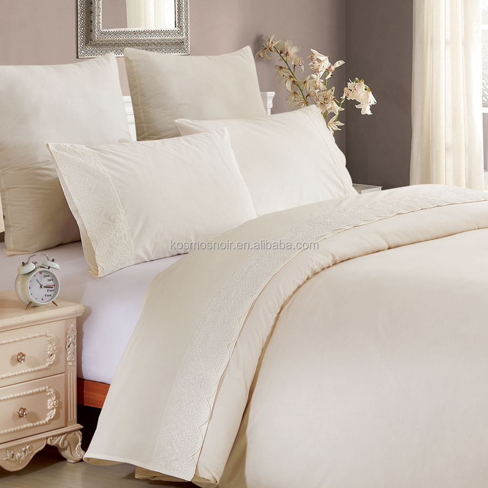 Breathable Cotton Or Egyptian Super King Size Bedding Sets Bed Sheet