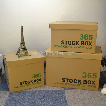 Free Sample Corrugated Cardboard Carton Boxes For Moving Home