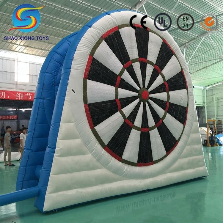 World Cup Inflatable Soccer Dartboard Football Inflatable Foot Dart Game For Sales