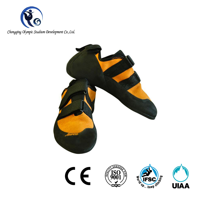 Genuine Leather Rock Climbing Shoes for Adults