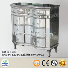 mirror glass cabinet soft close drawer slides