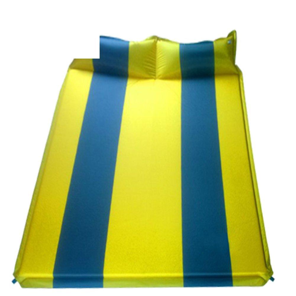 Outdoor-grade double automatic inflatable cushions/ tent mats/ dampproof mat/Beach mats-B