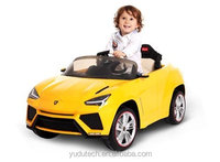 2017 LAMBORGHINII URUS 12V Kids Ride On Battery Powered Wheels Car + RC Remote - SPORTY YELLOW- Brought to you