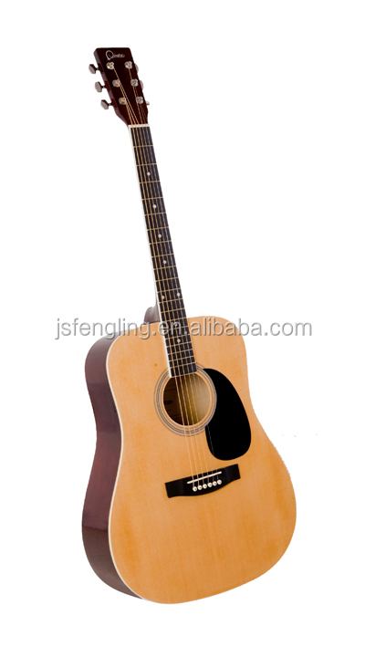 Beginner guitar with linden top touch music guitar in 41 inch