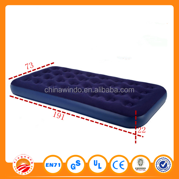 Wholesale price outdoor used air bed wholesale air mattress