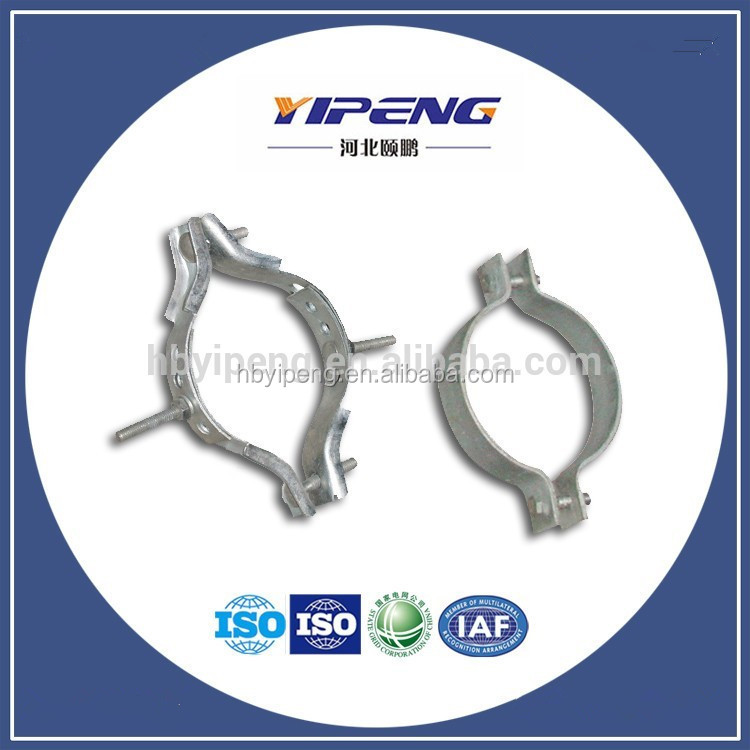 Pull Cable Hoop/Hot Dip Galvanized Anchor Ear/Bands on Pole/Secondary Rack