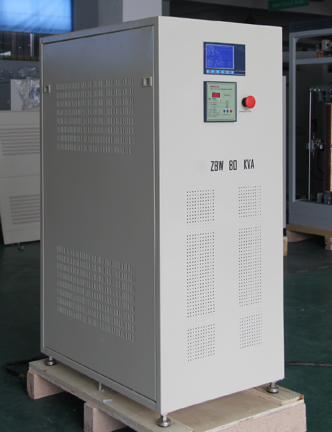 80kw non contact micro computer voltage stabilizer