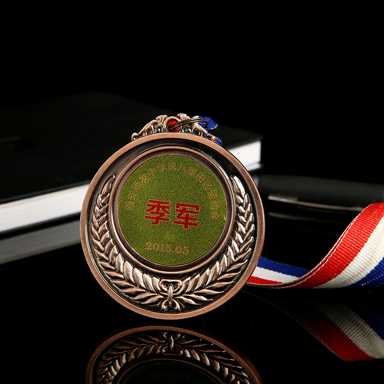 Factory cheap price customized medal copper sport metal trophies and medals
