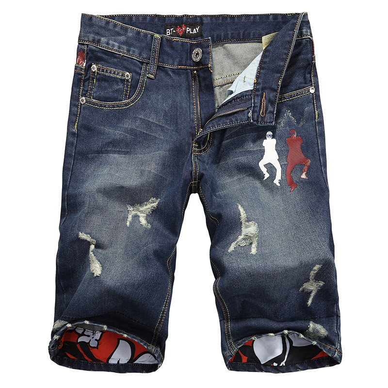 7140c6c370763 Polo Jeans Short Men 2015 Rock Jeans Men Shorts With Famous Style Blue  Straight Polo Jeans