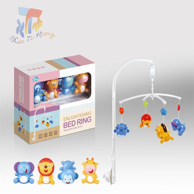 New educational bed bell ring for baby toys