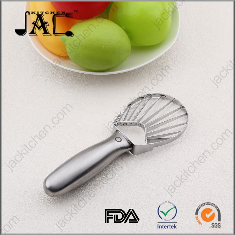 Industrial Durable Plastic Stainless Steel Avocado Slicer And Pitter