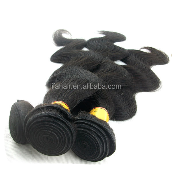 Natural color virgin human collagen protein hair