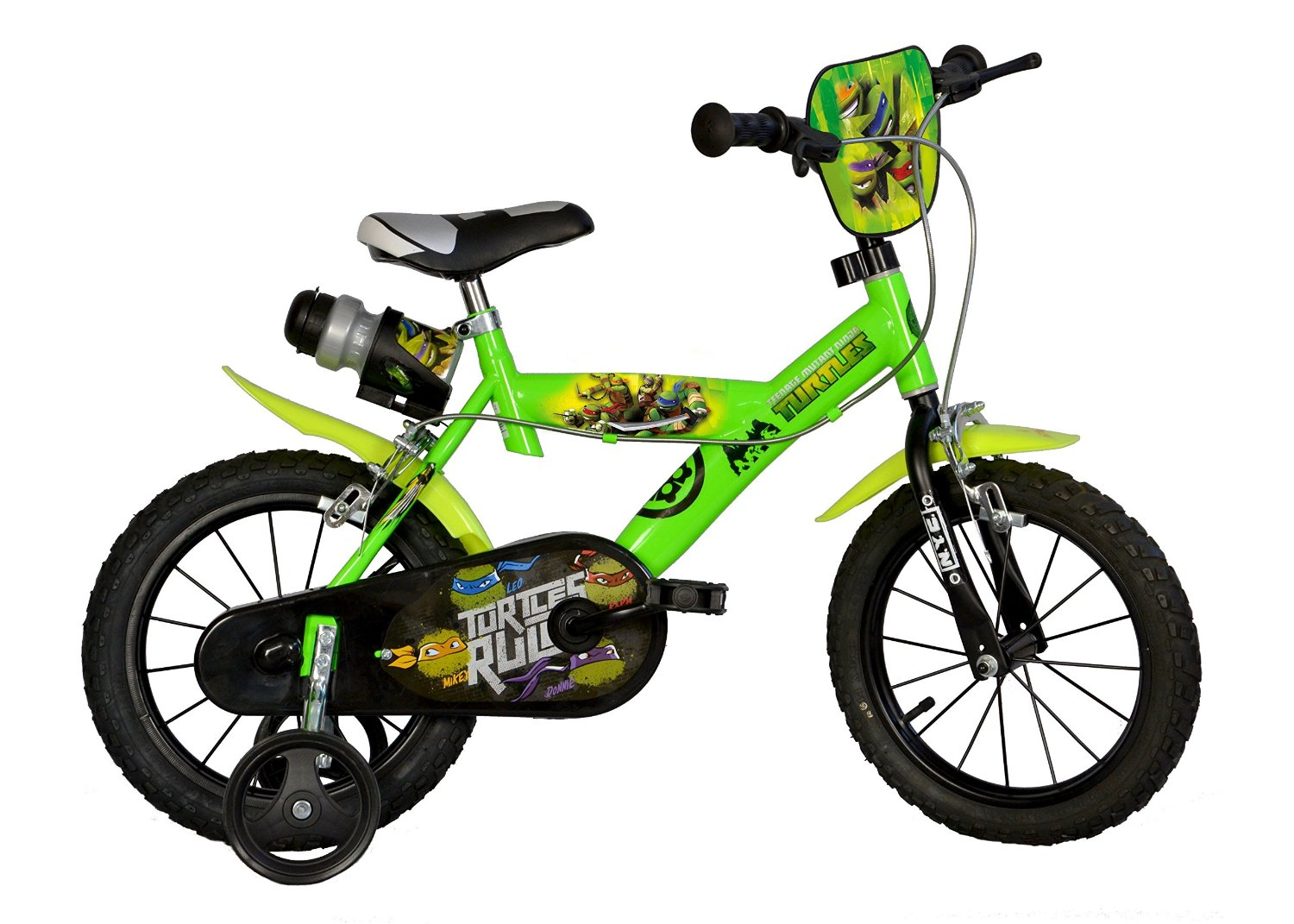 c64fff56771 Get Quotations · Dino Bikes 12 Inch Teenage Mutant Ninja Turtles Themed Bike