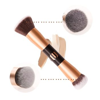2019 wholesales 100% Cruelty free Cosmetics Dual end makeup powder brush