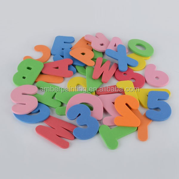 dailymall 26 Packs Sponge Foam Letter Floating Bath Tub Swimming Alphabet Learning Toy