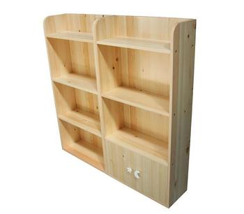 wooden kids bookcase KB-1001