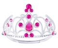 10pcs 15pcs CZ Diamond Elsa Princess Crowns Bubblegum Girls Dancing Party Queen Tiaras Hair Jewelry Accessories