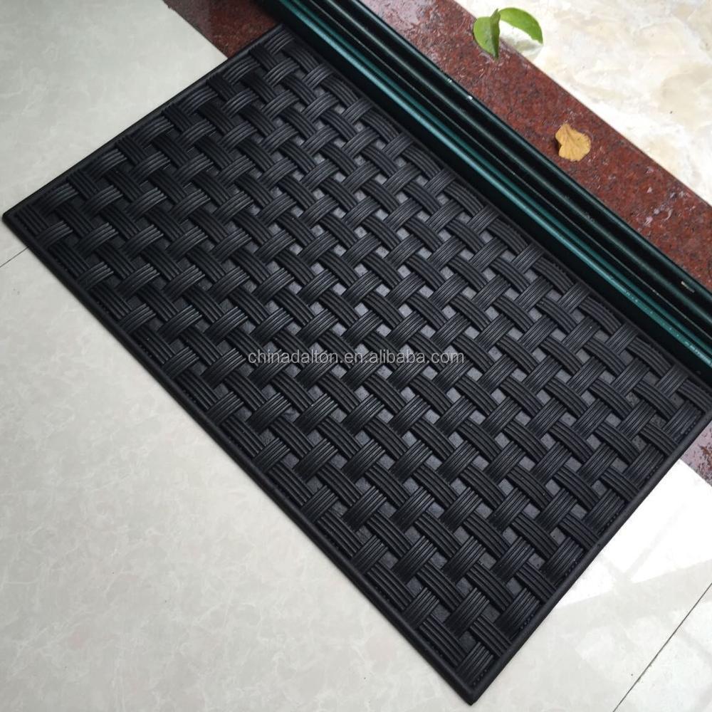 Dye Sublimation Printed Custom Rubber Floor Mat For