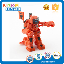 Newest Wholesale Remote Control Battery Operated RC Intelligent 2.4G Infrared Fighting Robot
