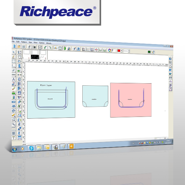 Richpeace Garment Template Design Auto Sew Cad System Software Buy Hospital Information System Software Steel Design And Drawing 3d Cad Software Sewing Template Design Product On Alibaba Com