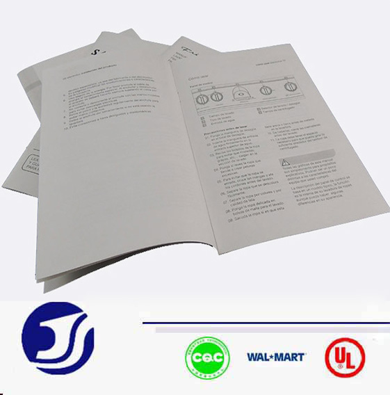 Paper Folded Leaflet cheap brochure printing book