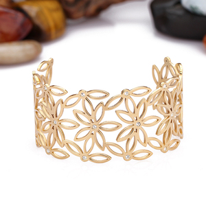 guangzhou fashion jewelry set stainless steel oro bangles