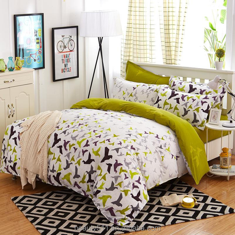 4pcs Quilt Cover Queen Size 3D Printed Bedding Set Bedclothes Pattern Quilt Cover + Bed Sheet + 2 Pillowcases BS162