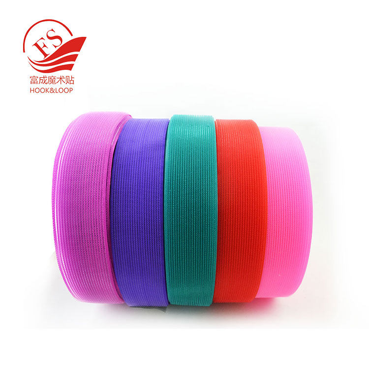 factory direct wholesale hair accessories raw material nylon magic hook in custom shapes