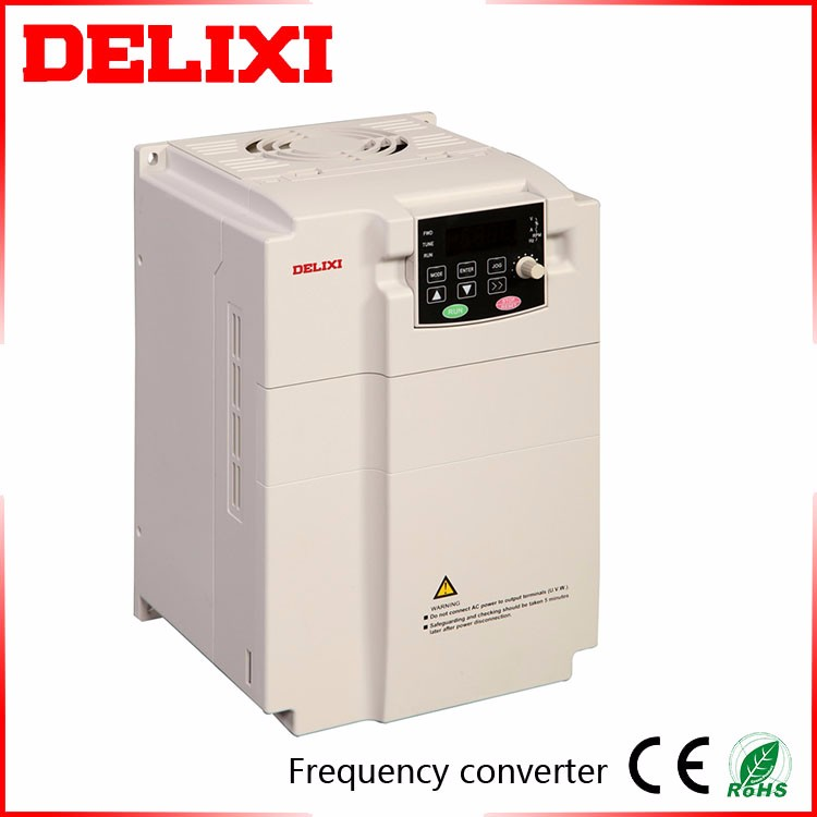 DELIXI CDI-E100 0.4-22KW Sall Size Good Thermal Dissipation Digital Phase Converters