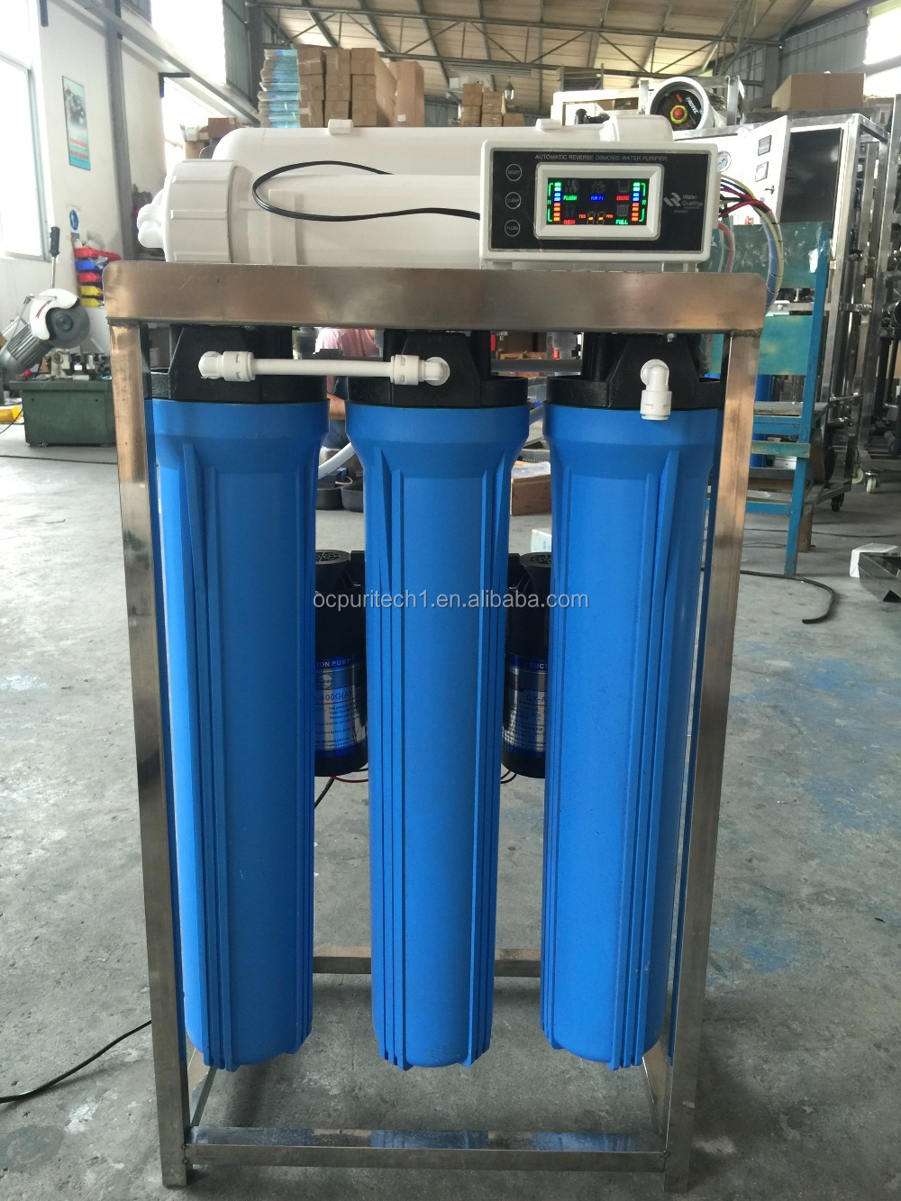 China supplier commercial reverse osmosis machine 500 gpd ro system