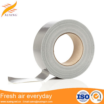 Hvac Ducting Self Adhesive Aluminum Foil Reinforced Fireproof Heat ...
