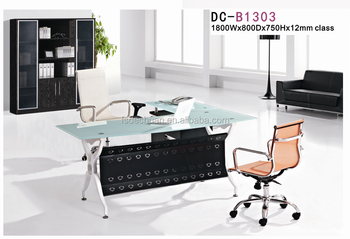 High Quality Standard Office Furniture Dimension,Home Office Desk And Chair