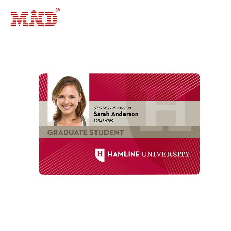 Şirket çalışanı kimlik örnek kartı