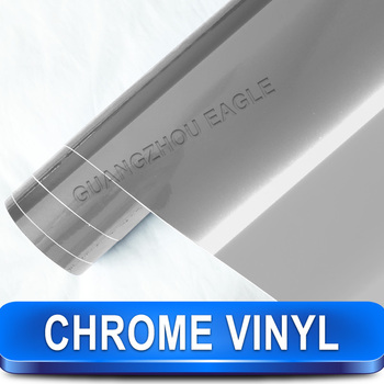 Guangzhou Eagle Carbon Fiber Suppliers High Quality silver chrome film for car wrap