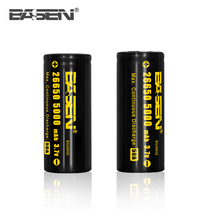 Cyclindrical 26650 battery 3.7v 5000mah lithium battery cell 26650 for battery pack solar system