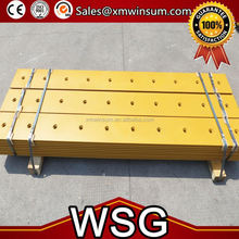 WSG Trade Assurance excavator bucket cutting edge with high quality