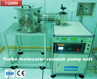 Turbo molecular vacuum pump unit/vacuum pump set/vacuum pump system