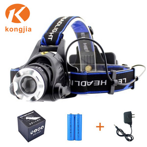 Cheap T6 High Power headlamp 800 Lumens Rechargeable led headlight led motorcycle headlight