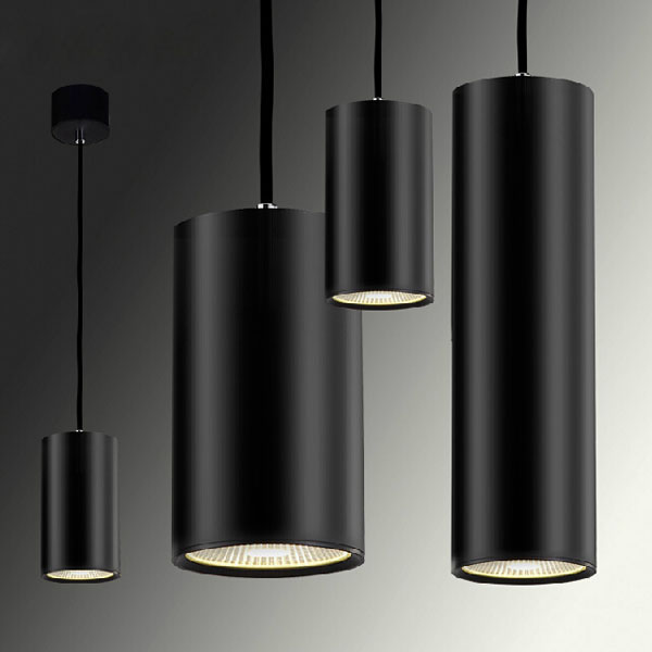 Home Modern Cylinder Decorated LED Dimmable Pendant Light