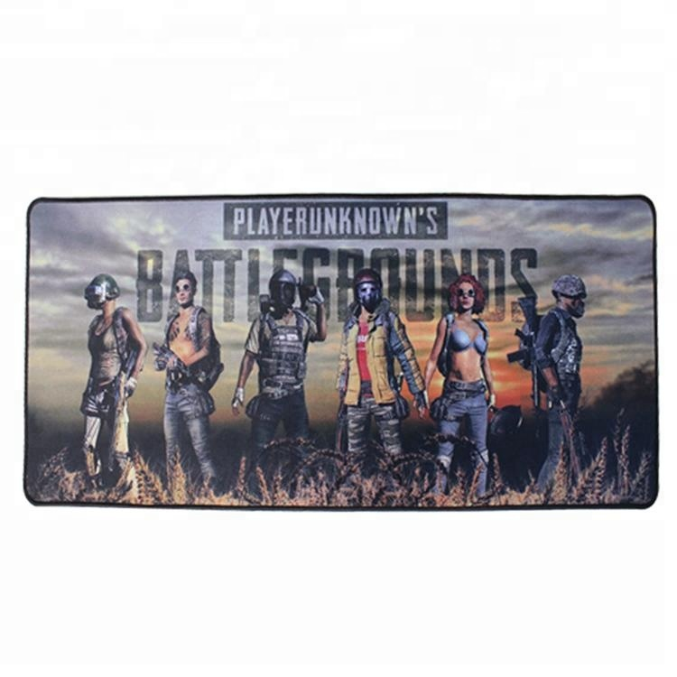 800*300 mm large size custom printed gaming rubber mouse pad, All colors is available