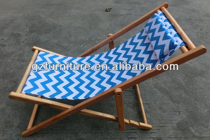 Lona Plegable Silla De Playa De Madera Mesas De Camping - Sillas-de-lona-plegables