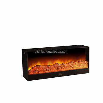 Bisini Luxury Large Wall Mount Decorative Electric Fireplace Heater