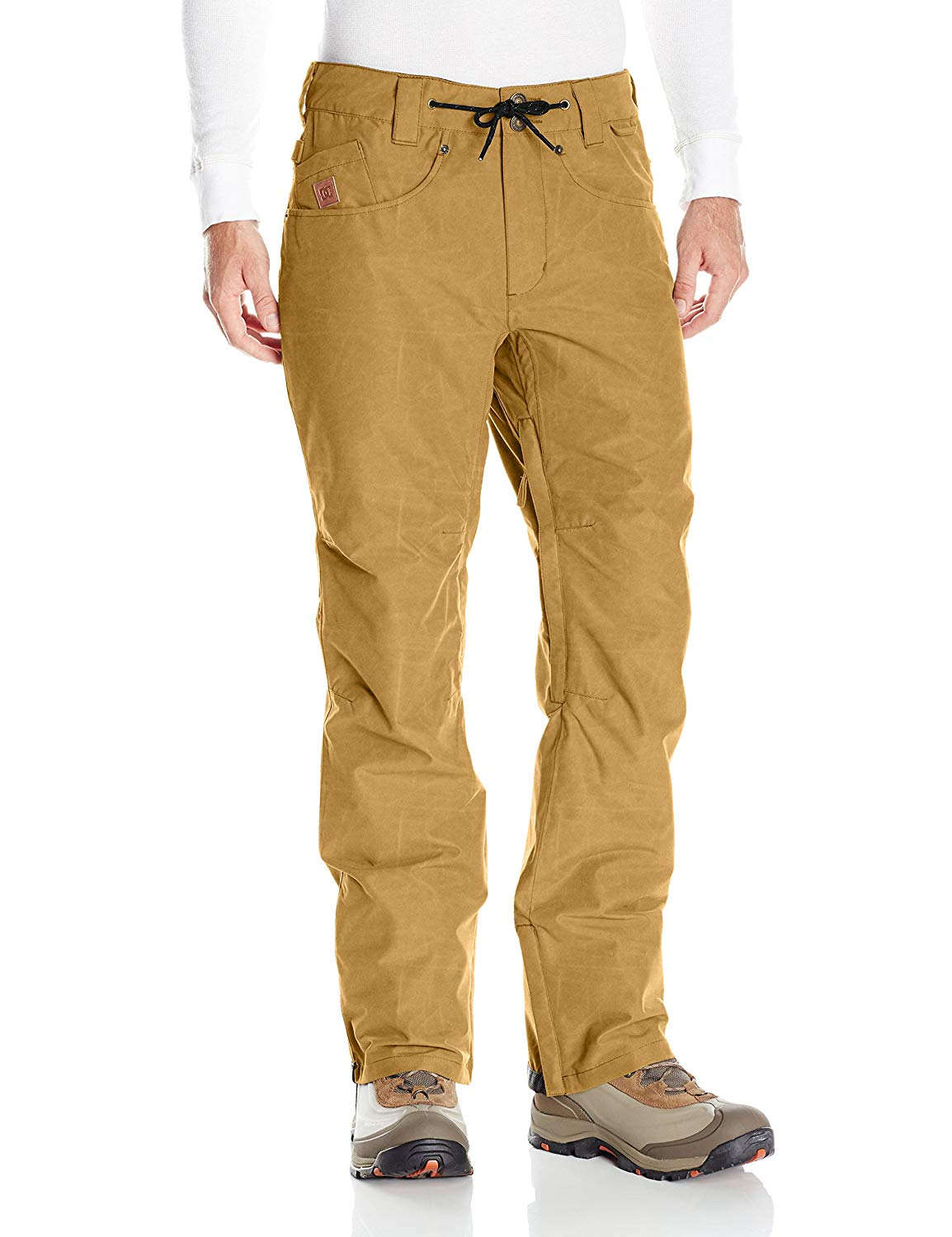 e28073f9909 Get Quotations · DC Men s Relay 15k Water Proof Denim Jean Style 5 Pocket Snowboard  Pants