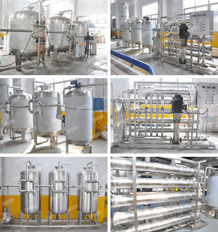 China Produced RO Water Filtration Treatment System